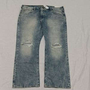 Nwt Original Boot Jean Lt Destroy Wash Multi Sizes